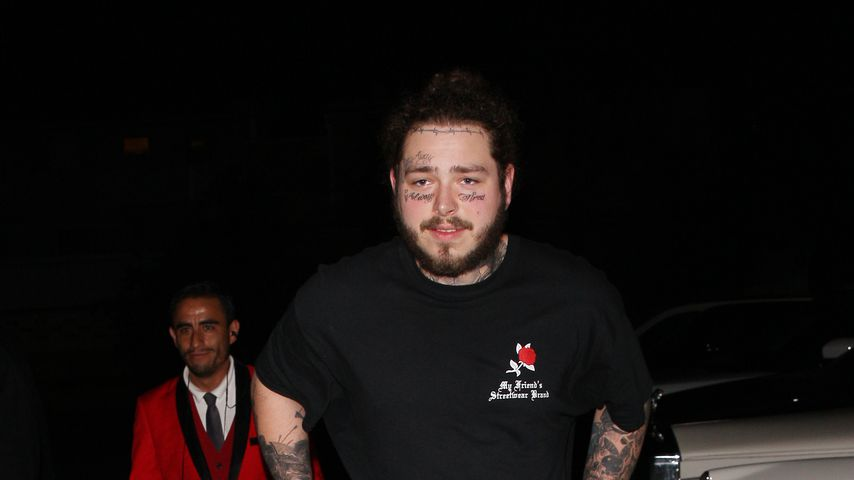 Rapper Post Malone in West Hollywood, Juni 2018
