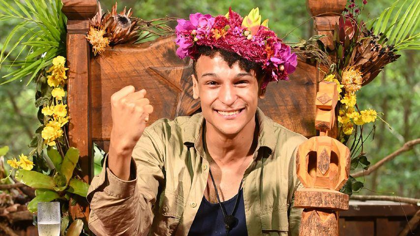 Prince Damien auf dem Dschungel-Thron