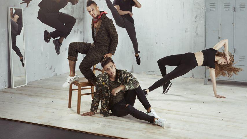 """Prince Damien und Luca Hänni, """"Dance Dance Dance""""-Kandidaten 2017"""