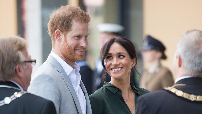 Diana? Wetten auf Baby-Namen für Harry & Meghan laufen schon