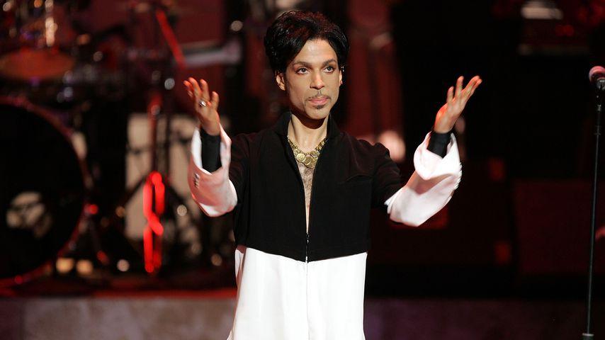 Prince bei einem Auftritt 2005