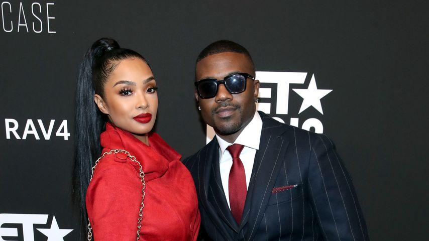 Princess Love und Ray J auf einem Event in Los Angeles