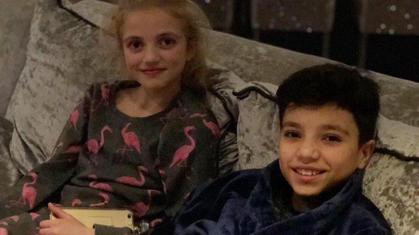 Princess Tiaamii und Junior Savva
