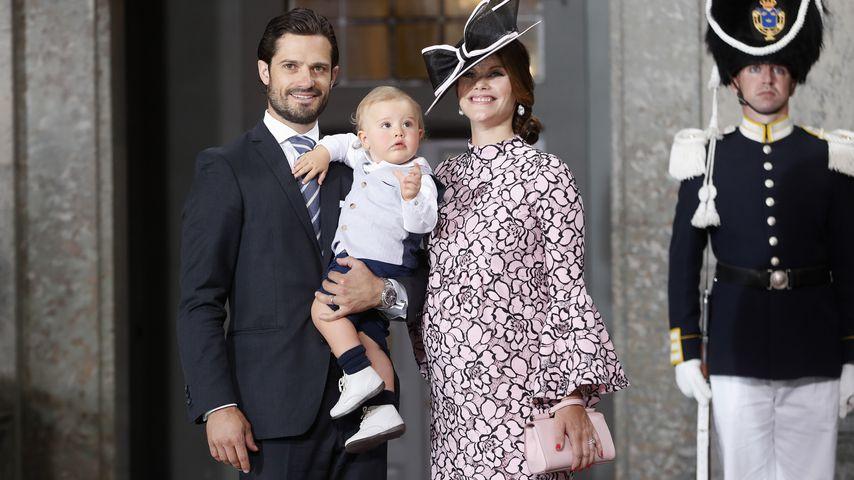 Sofia ist schwanger! Prinz Carl Philip wird endlich Papa