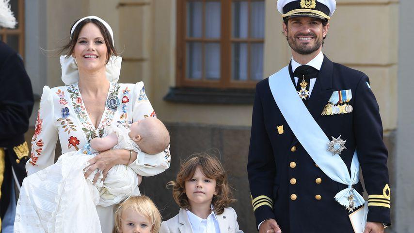 Erstmals ohne TV: So schön war Schweden-Prinz Julians Taufe