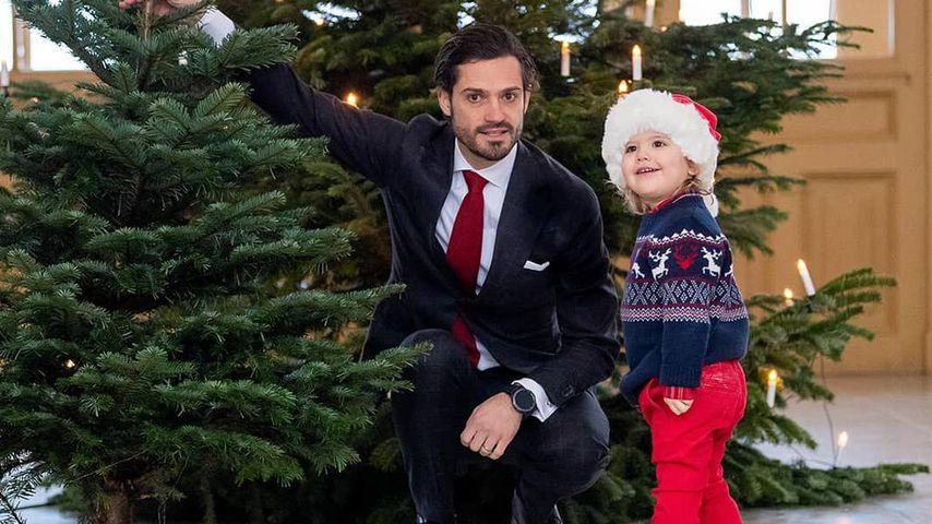Prinz Carl Philip und Prinz Alexander von Schweden Weihnachten 2018