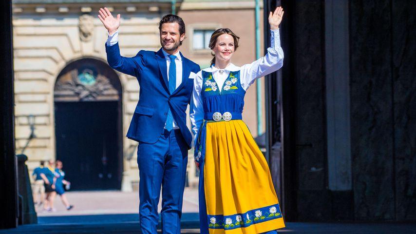 Prinz Carl Philip und Prinzessin Sofia von Schweden im Juni 2019