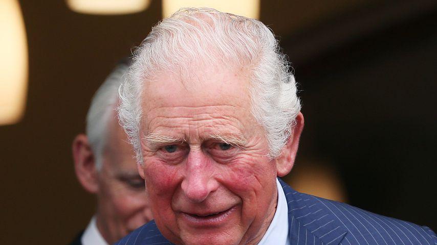 Prinz Charles bei seinem Besuch in Caledon im Mai 2021