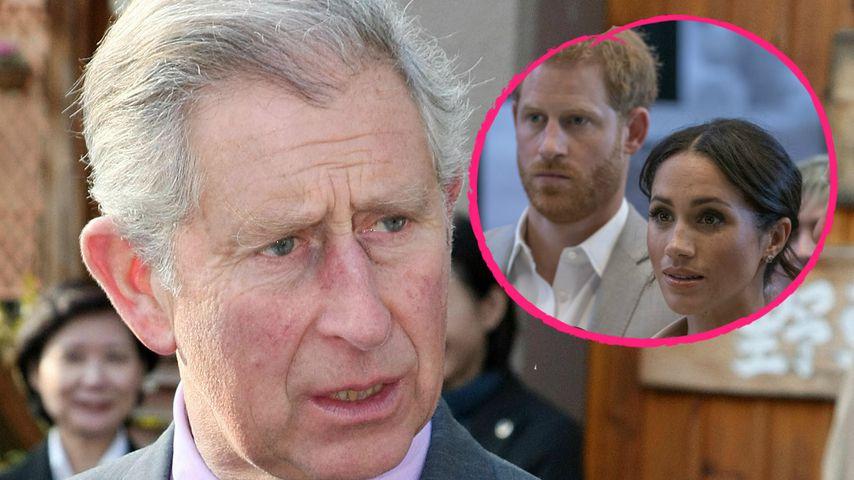 Wegen Terminen: Harry & Meghan schwänzen Charles' Geburtstag