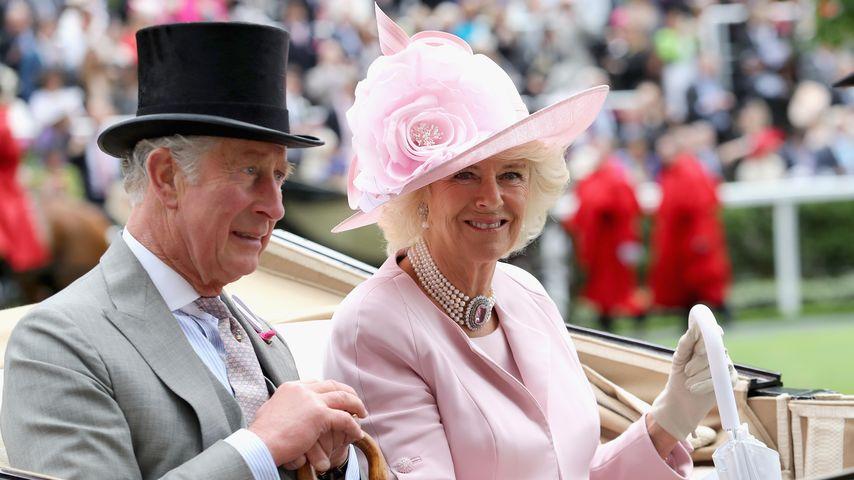 Prinz Charles und Camilla Parker Bowles beim Royal Ascot 2016