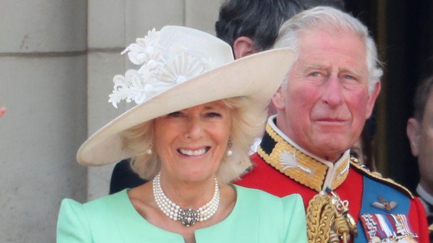 Herzogin Camilla und Prinz Charles bei der Geburtstagsparade der Queen