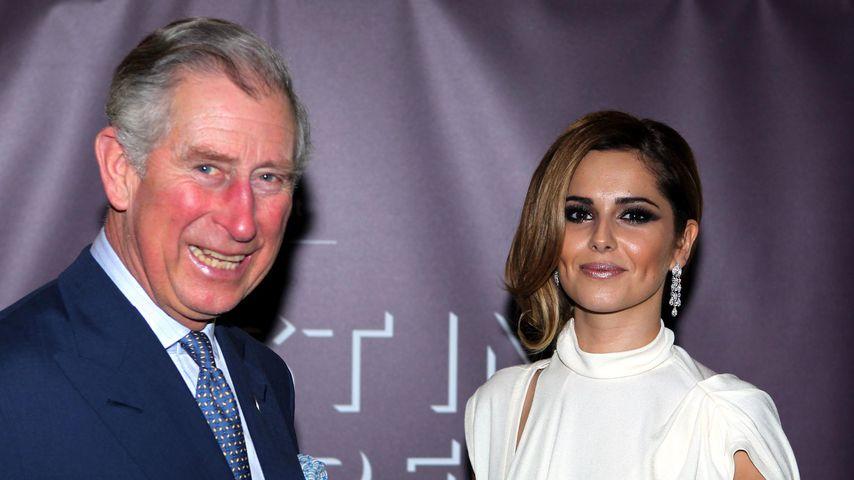 Prinz Charles und Cheryl Cole bei einer Gala im Februar 2012