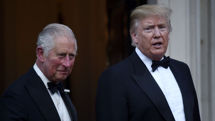 Prinz Charles und Donald Trump im Juni 2019 in London