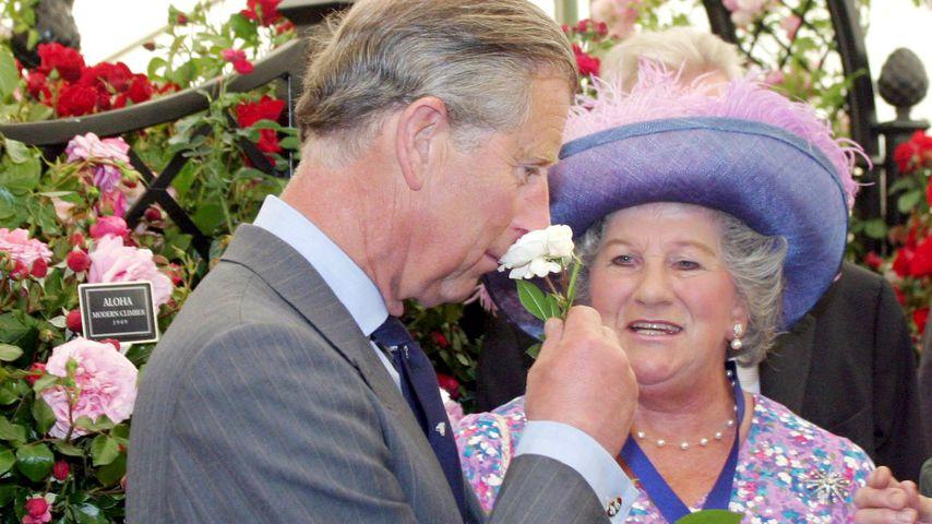 Prinz Charles und Lady Mary Colman bei der Royal Norfolk Landwirtschaftsmesse 2004