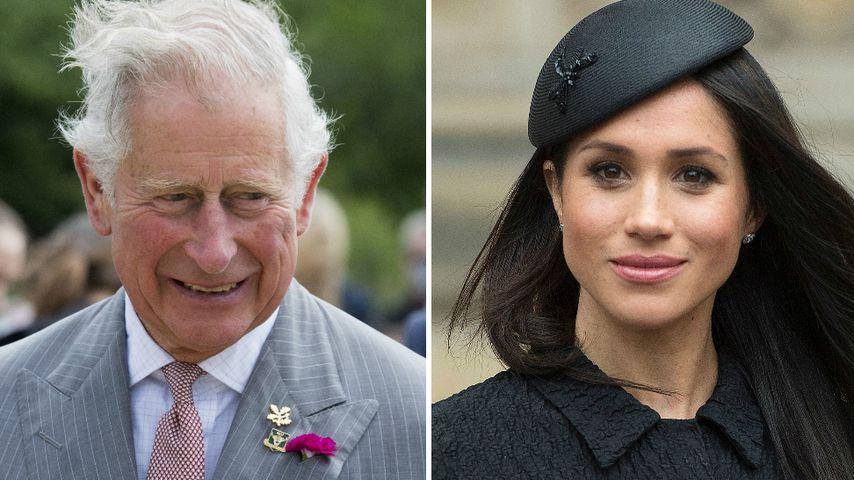 Jetzt ist es raus: Prinz Charles führt Meghan zum Altar!