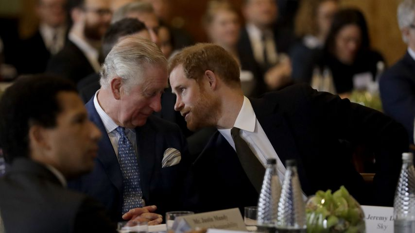So bat Prinz Harry seinen Vater, Meghan zum Altar zu führen!