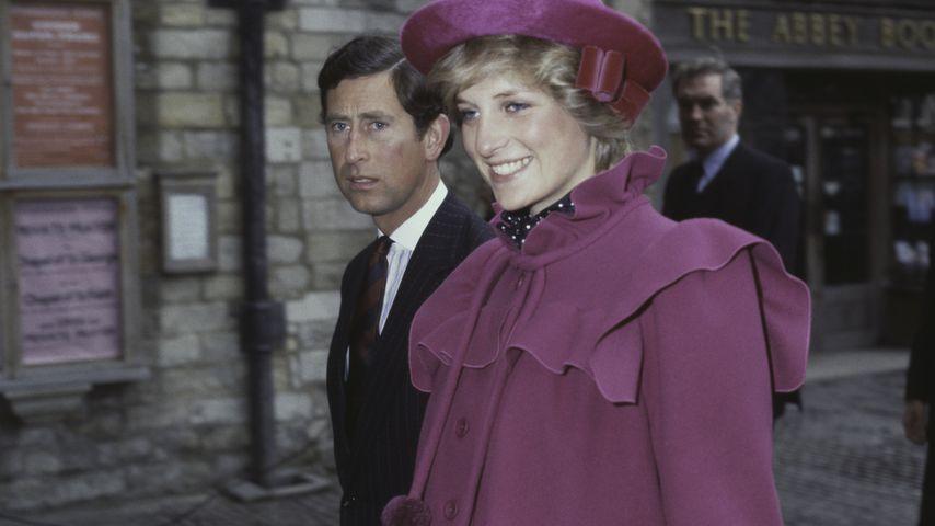 Prinz Charles und Prinzessin Diana im Februar 1982