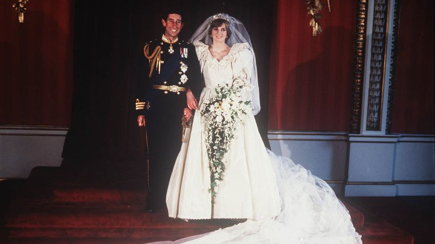 Bei Hochzeit: Prinz Charles & Diana brachen royale Tradition