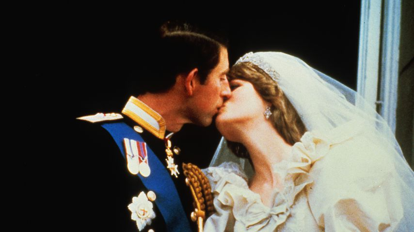Prinz Charles und Prinzessin Diana bei ihrer Hochzeit am 29. Juli 1981