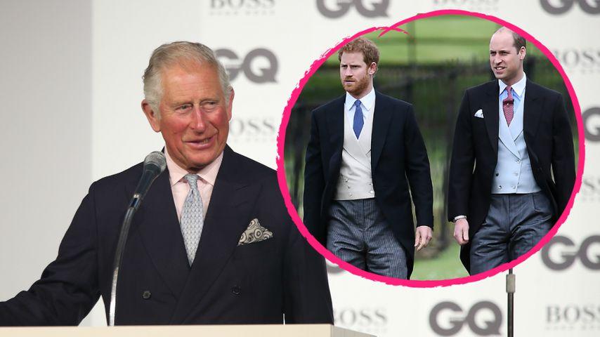 Prinz Charles wegen Lady Di-Doku sauer auf Harry & William?