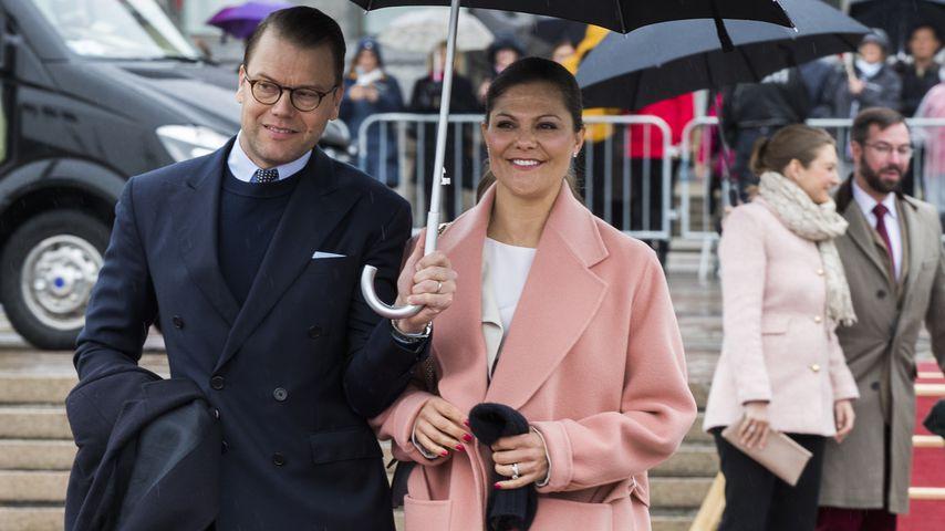 Prinz Daniel und Prinzessin Victoria in Norwegen