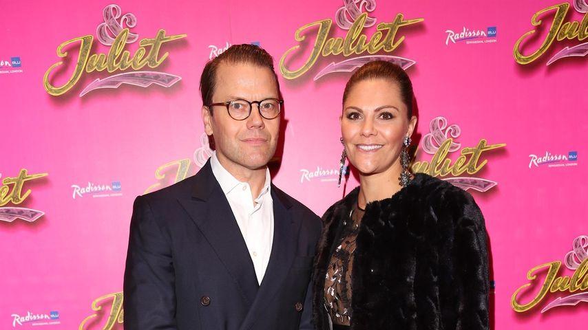 Prinz Daniel und Prinzessin Victoria von Schweden in London