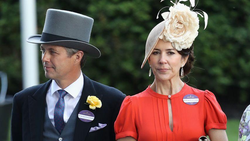 Prinz Frederik und Prinzessin Mary beim Royal Ascot 2016