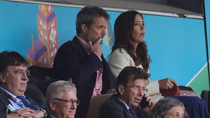 Zusammenbruch bei EM: Dänische Royals sind total erschüttert