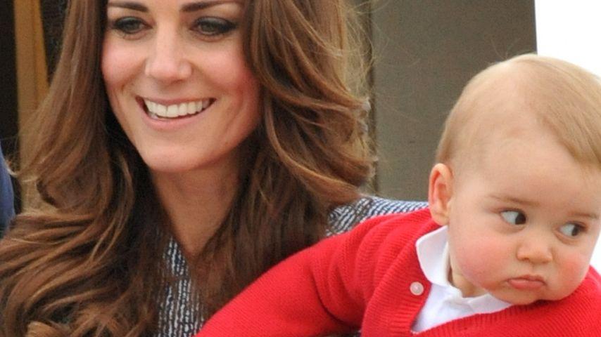 Ganz die Mama! Prinz George als Mini-Stilikone