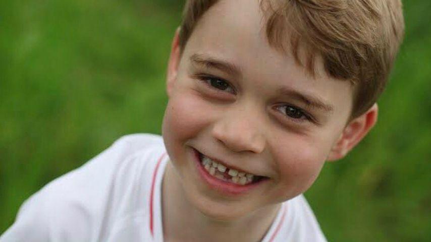 Mit süßer Zahnlücke: Prinz George wird sechs Jahre alt!