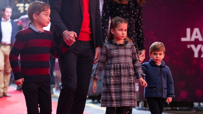 Prinz George, Prinzessin Charlotte und Prinz Louis