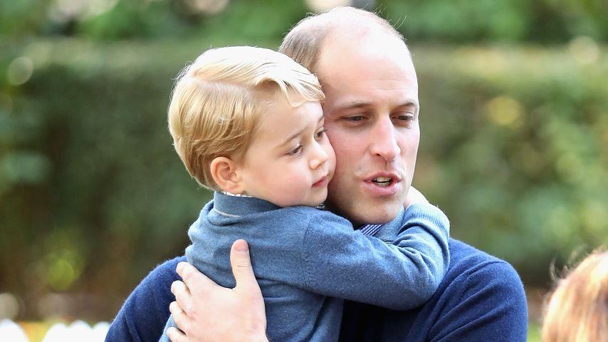 Prinz George und Prinz William in Kanada