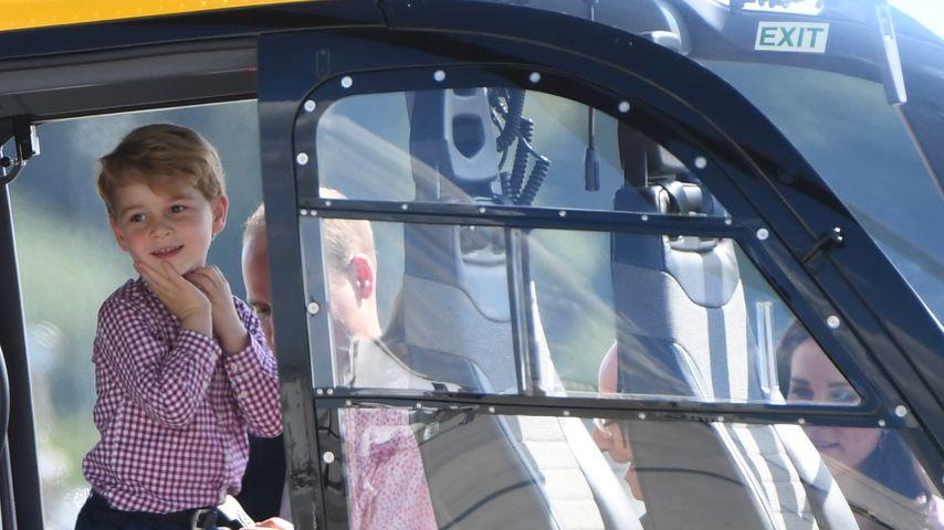 Prinz George und Prinz William in Hamburg