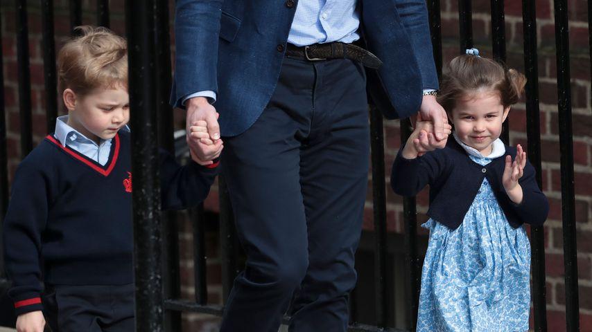 Prinz George und Prinzessin Charlotte können gut schwimmen!