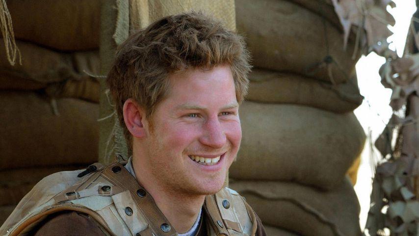 Prinz Harry 2008 in Afghanistan