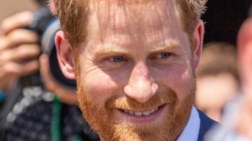 Prinz Harry überglücklich: Erste Worte des werdenden Vaters!