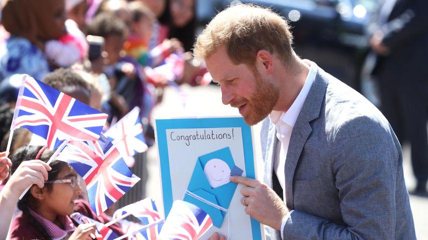 Prinz Harry im Mai 2019 in England