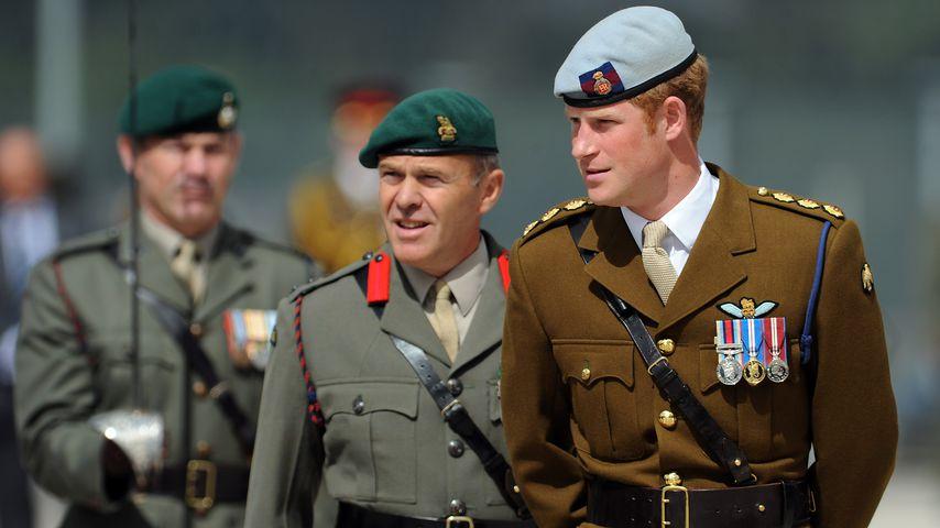 Prinz Harry bei den Royal Marines im August 2013