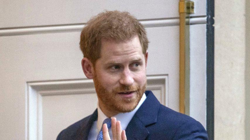 Prinz Harry im Januar 2020