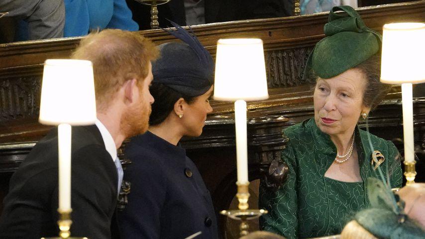 Prinz Harry, Herzogin Meghan und Prinzessin Anne