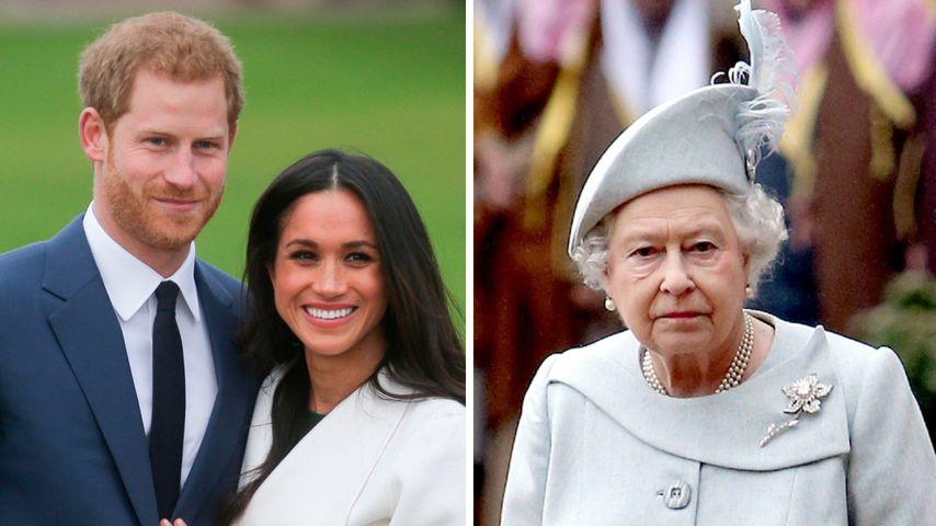 Statt Megxit: Bot die Queen Harry und Meghan Optionen an?