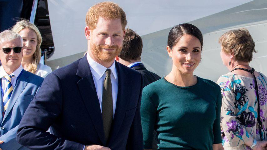 """Harry und Meghan müssen Titel """"Königliche Hoheit"""" abgeben!"""
