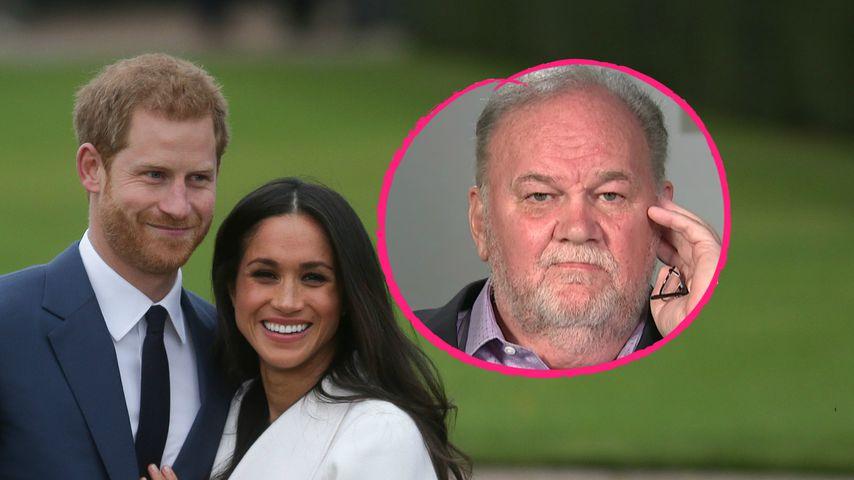 """""""Wir müssen ihn H nennen"""": So erfuhr Meghans Papa von Harry"""