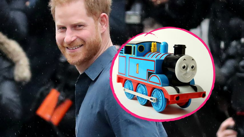 """Thomas, die kleine Lokomotive"": Prinz Harry hat Gast-Rolle"