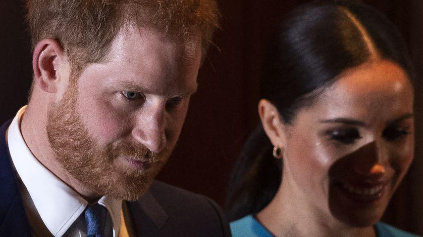 Prinz Harry und Herzogin Meghan im März 2020 in London