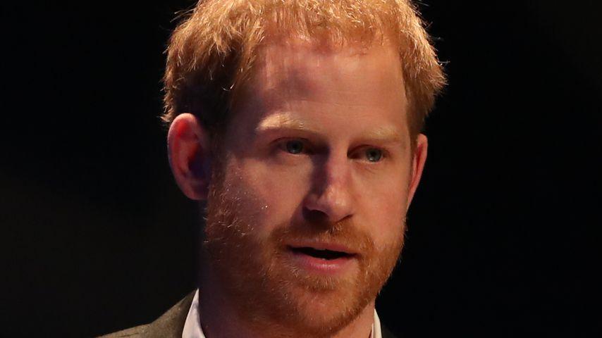 Prinz Harry im Februar 2020
