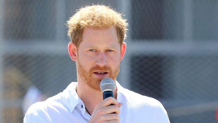 Prinz Harry in Kapstadt