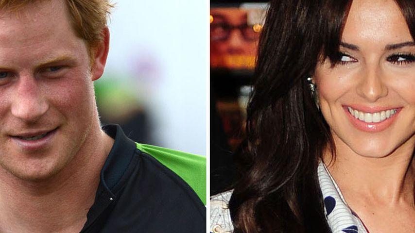 Heißer Flirt bei Cheryl Cole und Prinz Harry?