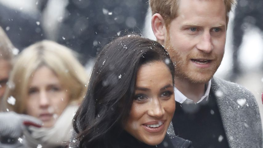 Prinz Harry und Herzogin Meghan verzaubern Fans im Schnee!