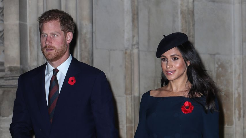 Prinz Harry und Herzogin Meghan am Remembrance Day 2018